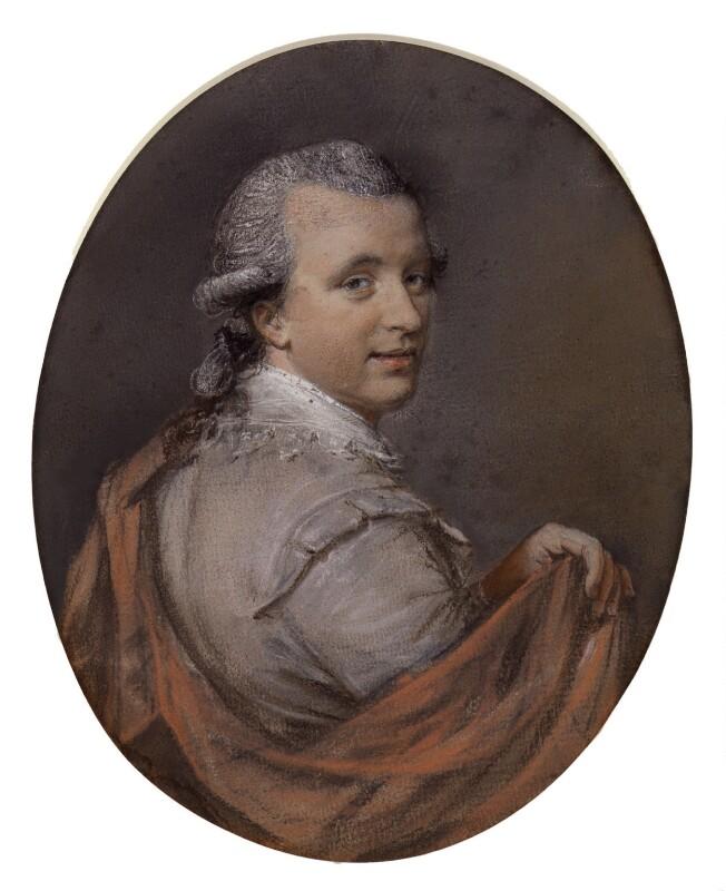 Samuel Ireland, by Hugh Douglas Hamilton, 1776 - NPG 4302 - © National Portrait Gallery, London
