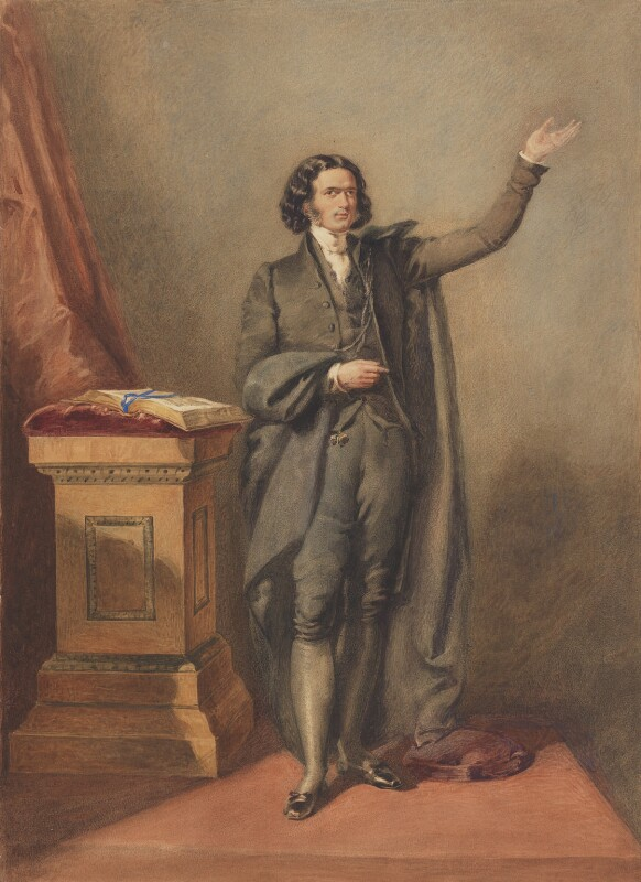 Edward Irving, by Unknown artist, circa 1823 - NPG 2757 - © National Portrait Gallery, London