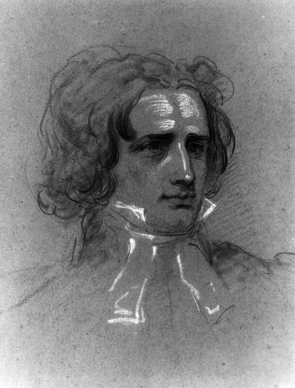 Edward Irving, by Joseph Slater, circa 1825 -NPG 424 - © National Portrait Gallery, London