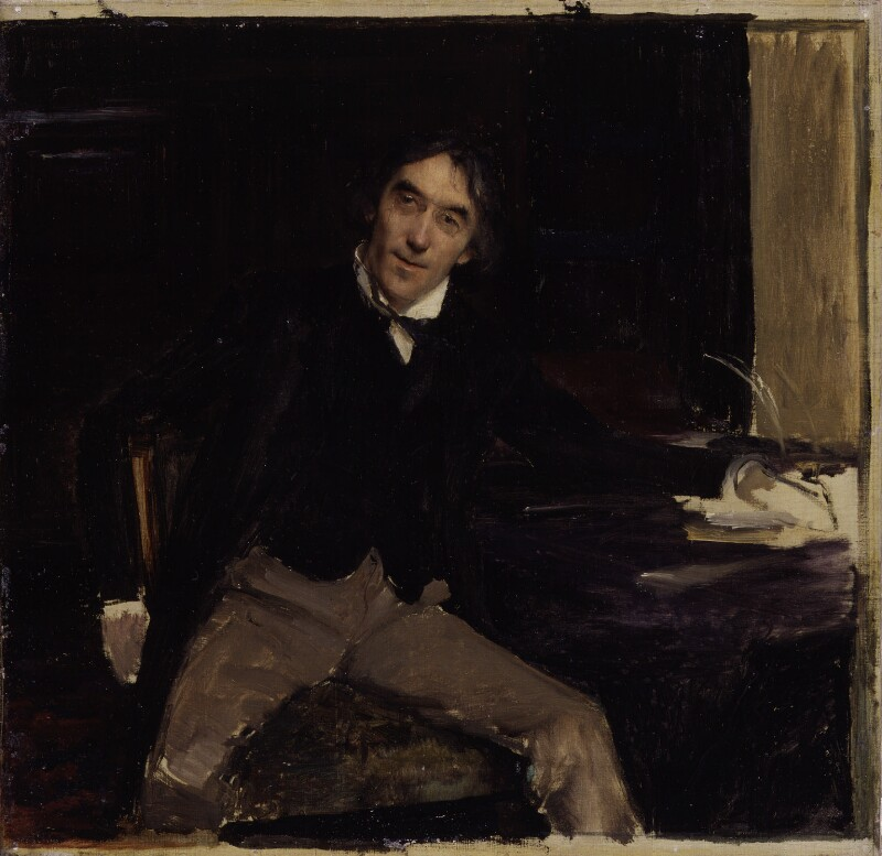 Sir Henry Irving, by Jules Bastien-Lepage, 1880 -NPG 1560 - © National Portrait Gallery, London