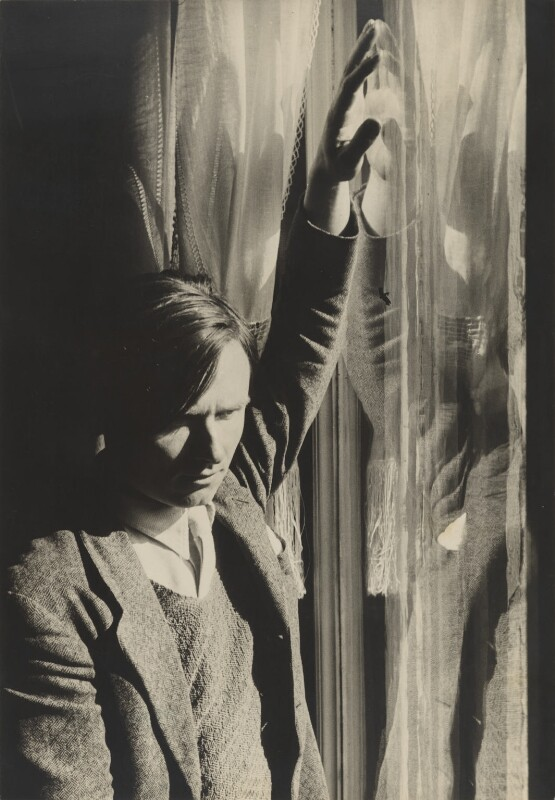 Christopher Isherwood, by Humphrey Spender, 1935 - NPG P41 - © National Portrait Gallery, London
