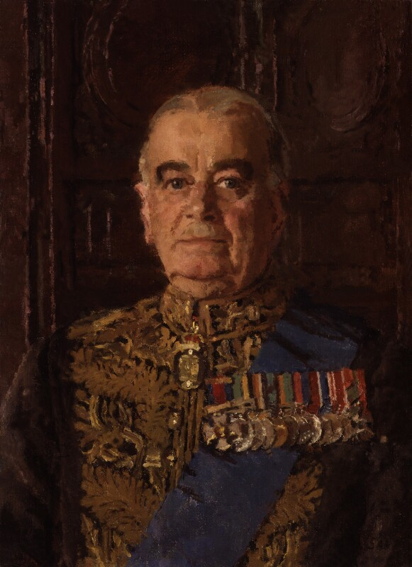 Hastings Lionel ('Pug') Ismay, 1st Baron Ismay, by Allan Gwynne-Jones, 1958 - NPG 4537 - © National Portrait Gallery, London