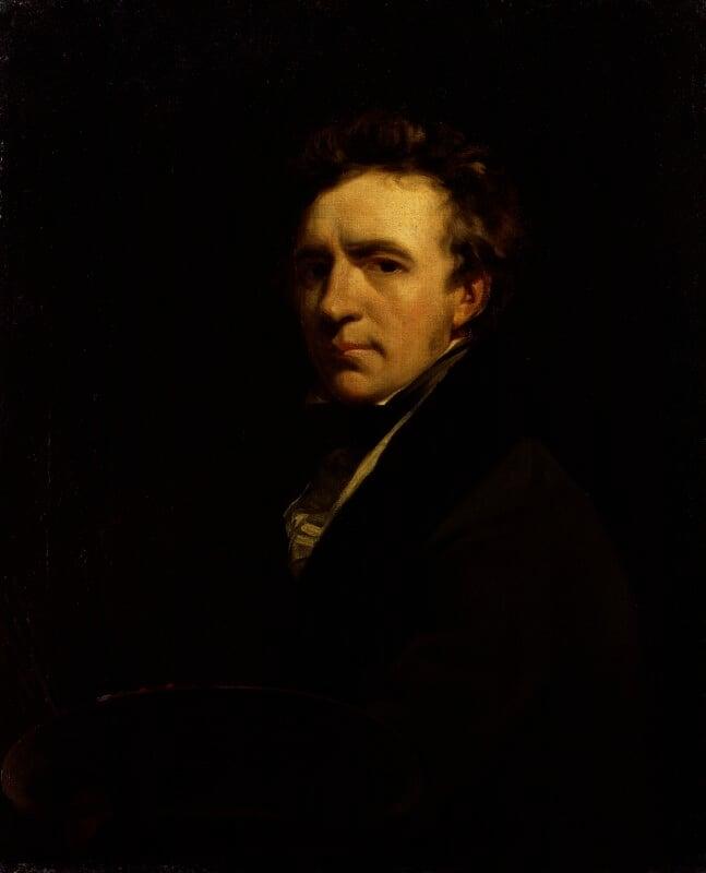 John Jackson, by John Jackson, circa 1823 -NPG 443 - © National Portrait Gallery, London