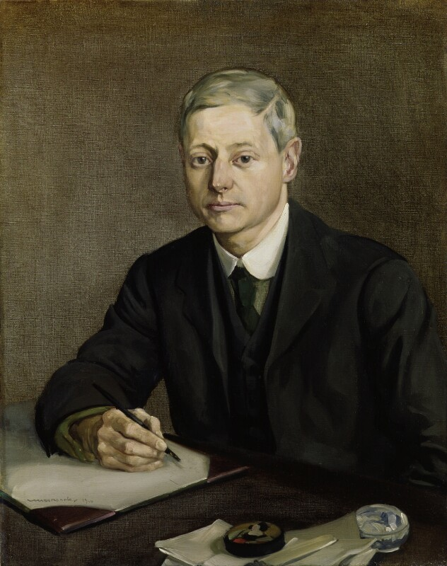 William Wymark Jacobs, by Carton Moore-Park, 1910 - NPG 3178 - © reserved; collection National Portrait Gallery, London