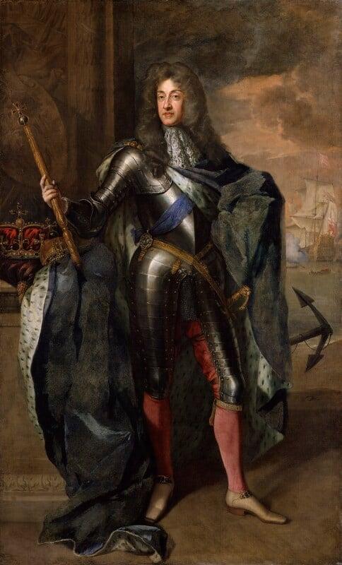 King James II, by Sir Godfrey Kneller, Bt, 1684 - NPG 666 - © National Portrait Gallery, London
