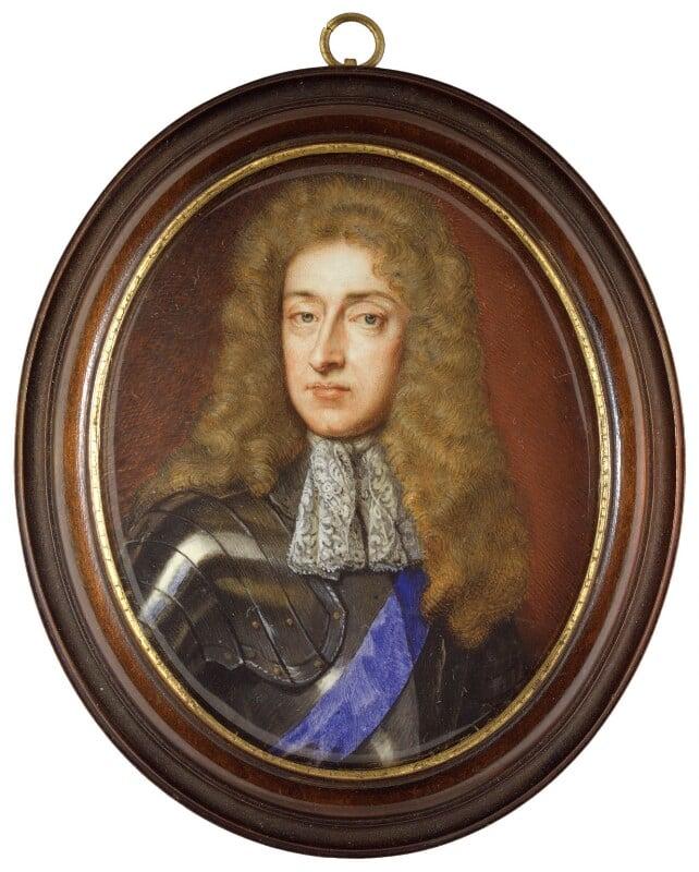 King James II, after Sir Godfrey Kneller, Bt, based on a work of 1684 - NPG 6277 - © National Portrait Gallery, London