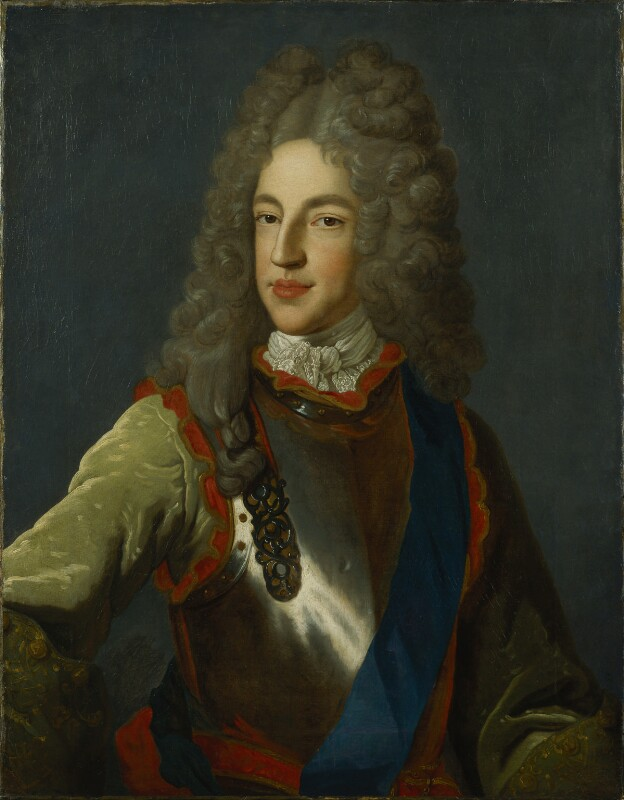 Prince James Francis Edward Stuart, studio of Alexis Simon Belle, circa 1712 - NPG 348 - © National Portrait Gallery, London