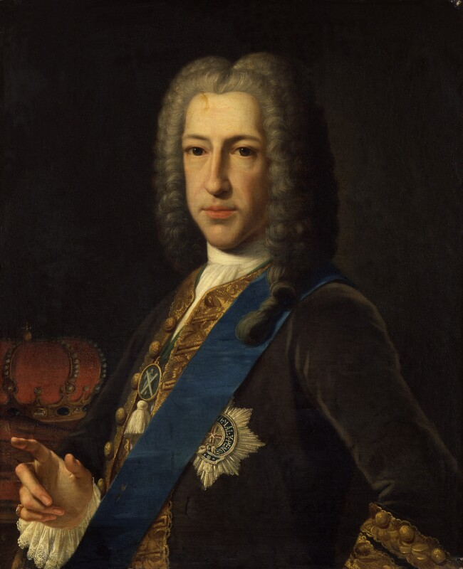 Prince James Francis Edward Stuart, attributed to Anton Raphael Mengs, 1740s - NPG 433 - © National Portrait Gallery, London