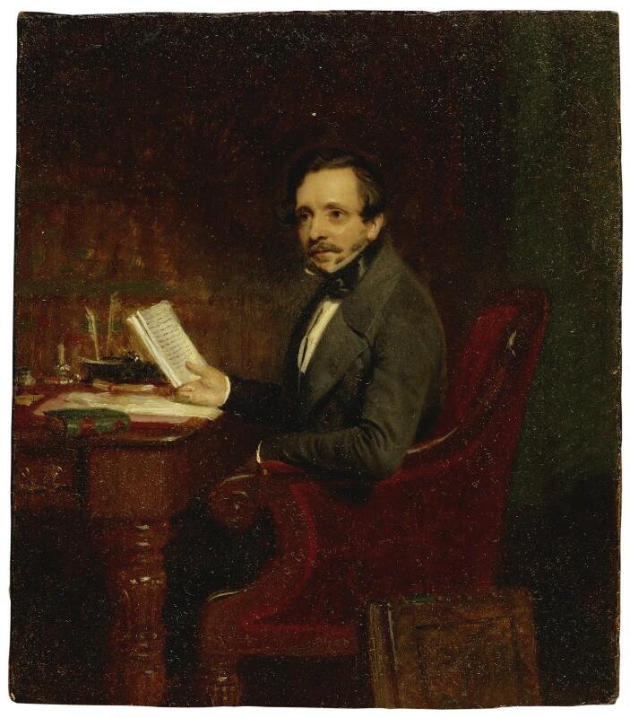 George Payne Rainsford James, by Stephen Pearce, 1846 - NPG 1259 - © National Portrait Gallery, London