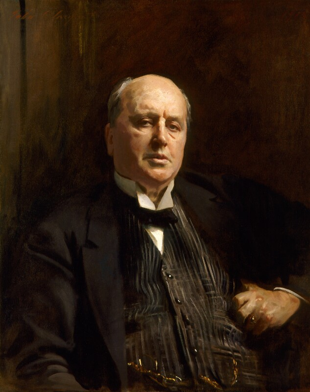Henry James, by John Singer Sargent, 1913 - NPG 1767 - © National Portrait Gallery, London