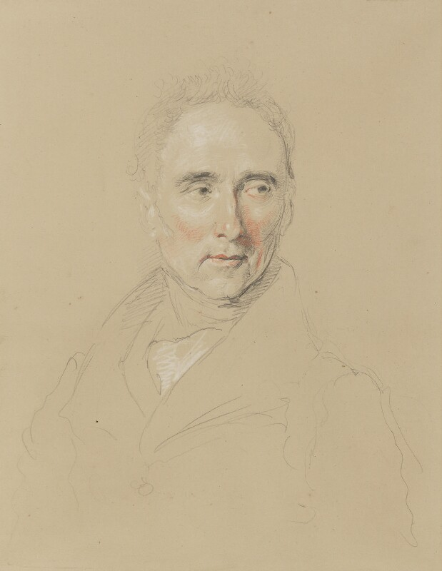 Francis Jeffrey, Lord Jeffrey, by John Linnell, circa 1840 - NPG 1815 - © National Portrait Gallery, London