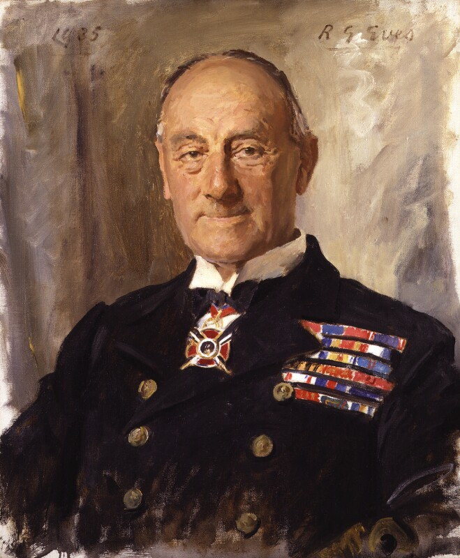John Rushworth Jellicoe, 1st Earl Jellicoe, by Reginald Grenville Eves, 1935 - NPG 2799 - © National Portrait Gallery, London