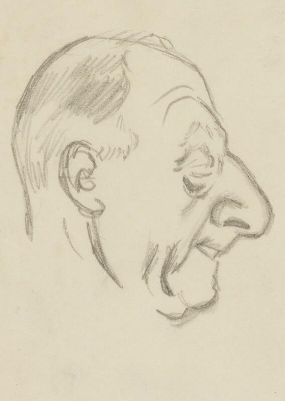 John Rushworth Jellicoe, 1st Earl Jellicoe, by Sir David Low, 1935 or before - NPG 4529(184) - © Solo Syndication Ltd