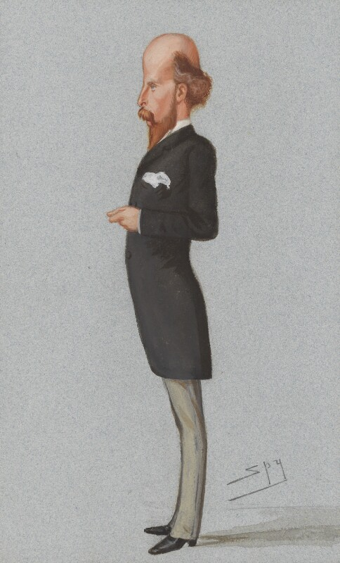 John Edward Jenkins, by Sir Leslie Ward, published in Vanity Fair 31 August 1878 - NPG 2578 - © National Portrait Gallery, London