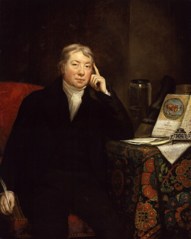Edward Jenner, by James Northcote, 1803 - NPG 62 - © National Portrait Gallery, London