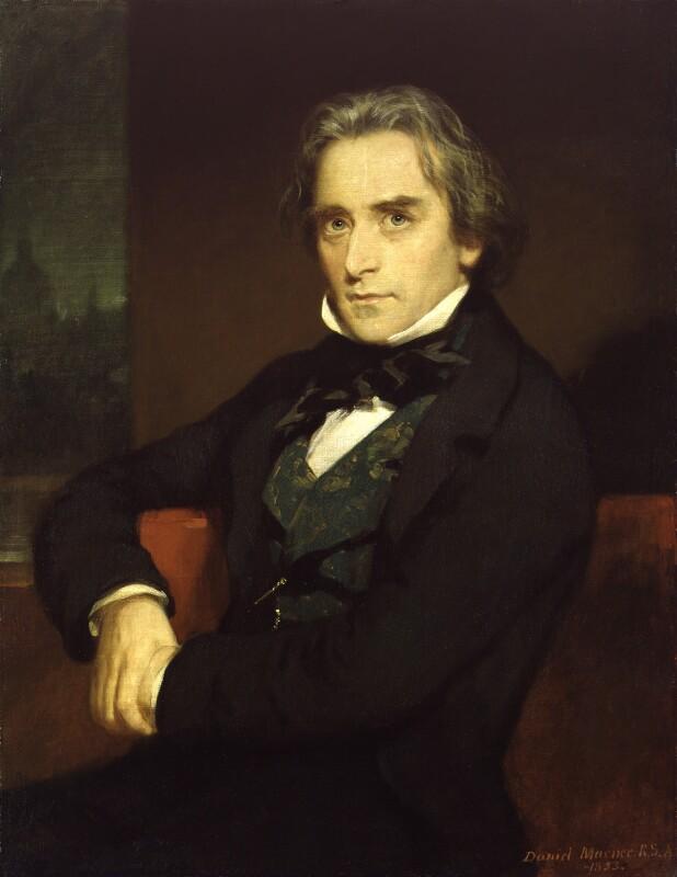 Douglas William Jerrold, by Sir Daniel Macnee, 1853 - NPG 292 - © National Portrait Gallery, London