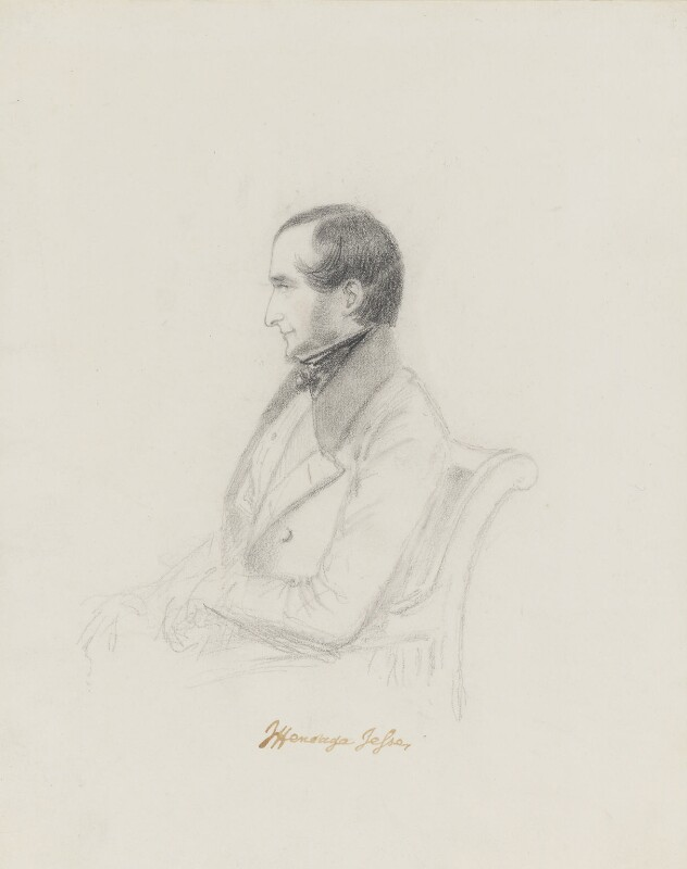 John Heneage Jesse, by Alfred, Count D'Orsay, circa 1832-1848 -NPG 4026(37) - © National Portrait Gallery, London