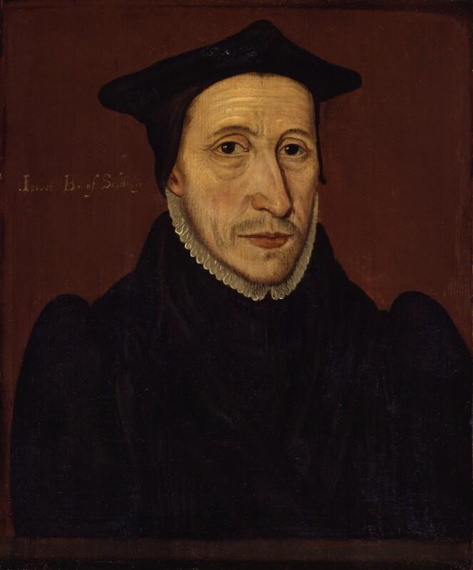 John Jewel, by Unknown artist, 1560s - NPG 242 - © National Portrait Gallery, London