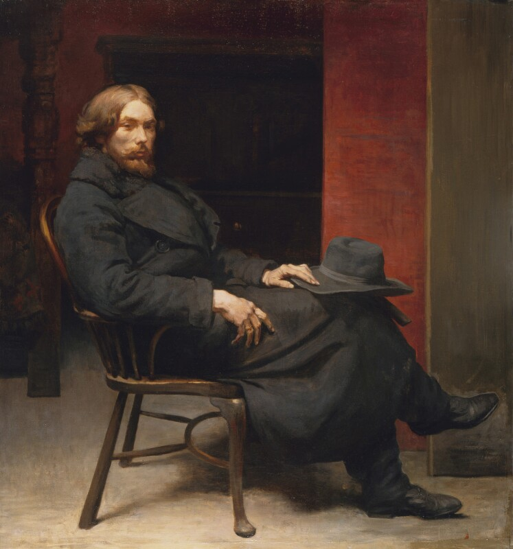 Augustus John, by Sir William Orpen, exhibited 1900 - NPG 4252 - © National Portrait Gallery, London