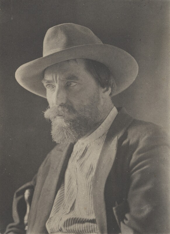 Augustus John, by (Charles) John Hope-Johnstone, 1922 - NPG P134(25) - © reserved; collection National Portrait Gallery, London