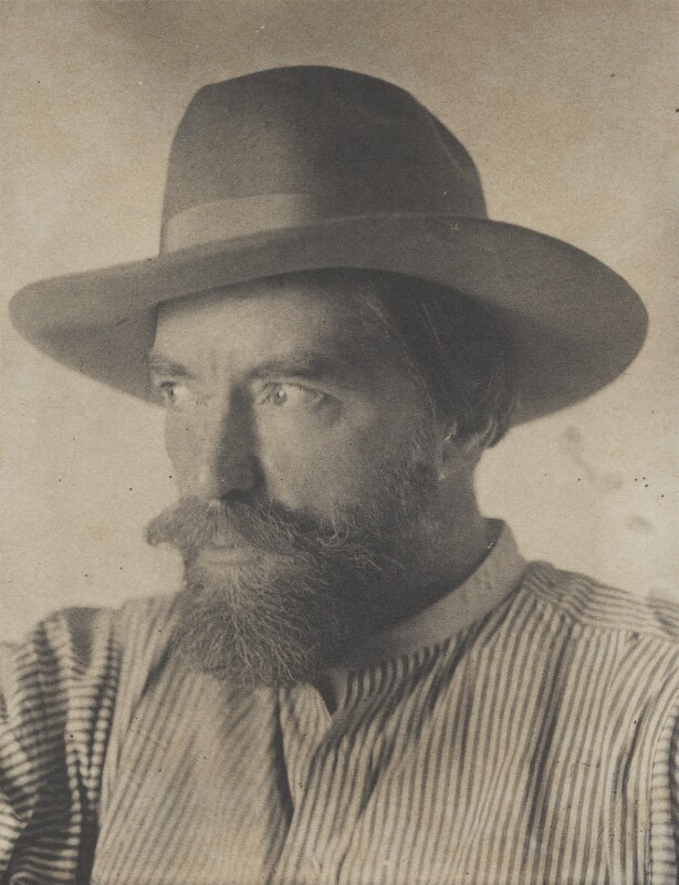 Augustus John, by (Charles) John Hope-Johnstone, 1922 - NPG P134(10) - © reserved; collection National Portrait Gallery, London