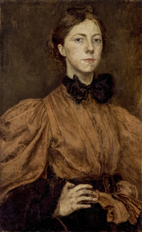Gwen John, by Gwendolen Mary ('Gwen') John, circa 1900 - NPG 4439 - © National Portrait Gallery, London