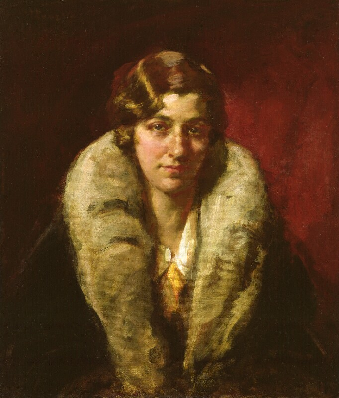 Image result for Sir John Longstaff, Amy Johnson, 1930,