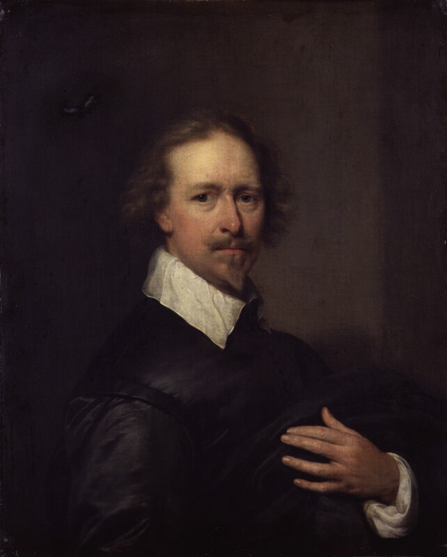 Unknown man, formerly known as Cornelius Johnson (Cornelius Janssen van Ceulen), by Cornelius Johnson (Cornelius Janssen van Ceulen), 1636 - NPG 1887 - © National Portrait Gallery, London