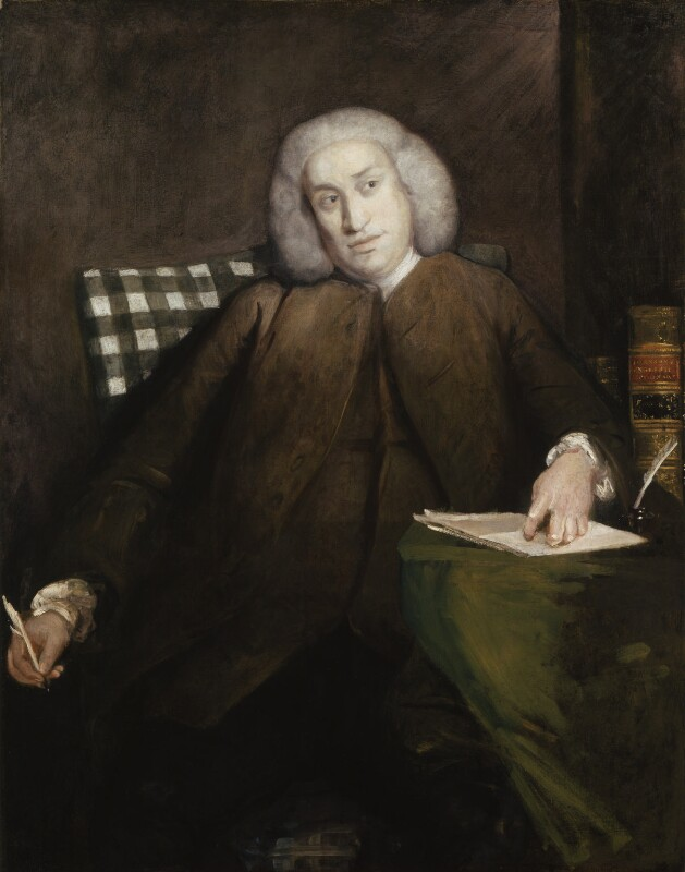 Samuel Johnson, by Sir Joshua Reynolds, 1756-1757 - NPG 1597 - © National Portrait Gallery, London