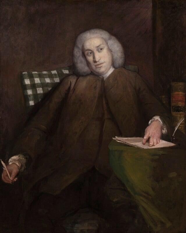 Samuel Johnson, by Sir Joshua Reynolds, 1756-1757 -NPG 1597 - © National Portrait Gallery, London