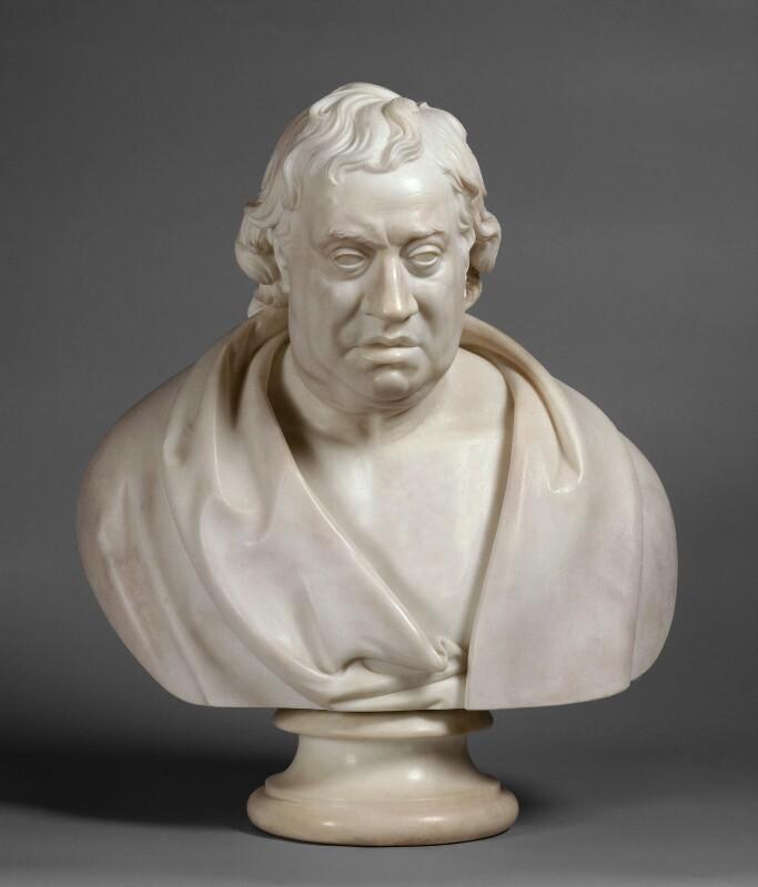 Samuel Johnson, by Edward Hodges Baily, after  Joseph Nollekens, 1828, based on a work of 1777 - NPG 996 - © National Portrait Gallery, London