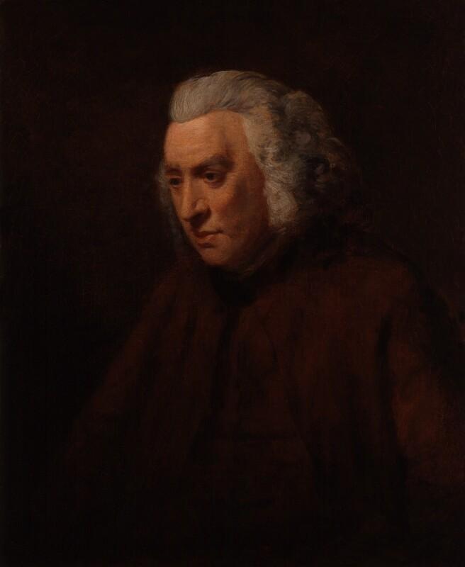 Samuel Johnson, after John Opie, based on a work of circa 1783-1784 - NPG 1302 - © National Portrait Gallery, London