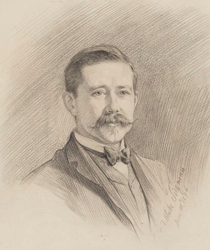 Sir Harry Hamilton Johnston, by Theodore Blake Wirgman, 1894 - NPG 2902 - © National Portrait Gallery, London