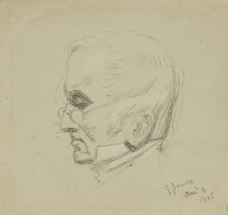 George Jones, by Charles Hutton Lear, 1845 - NPG 1456(14) - © National Portrait Gallery, London