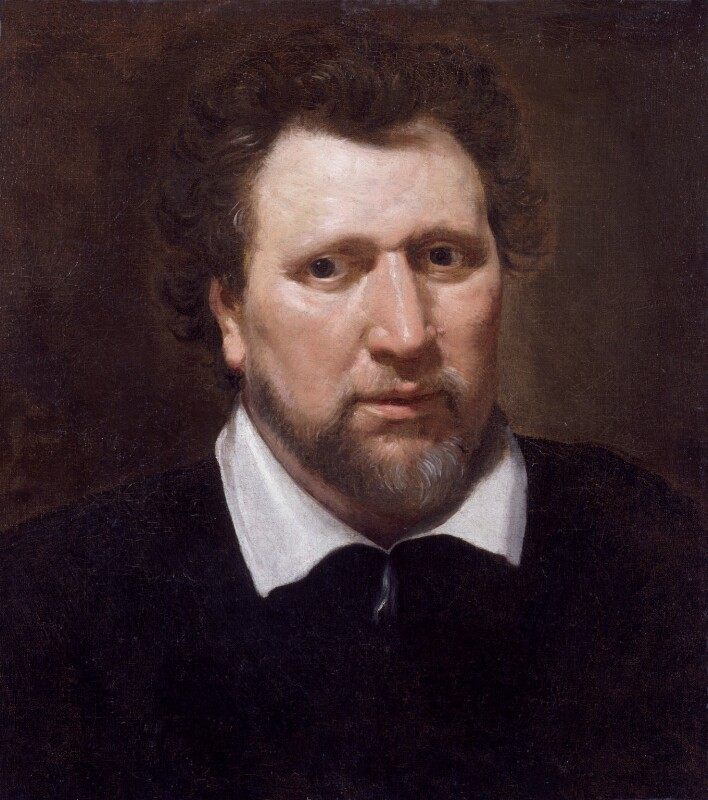 Benjamin Jonson, by Abraham van Blyenberch, circa 1617 - NPG 2752 - © National Portrait Gallery, London