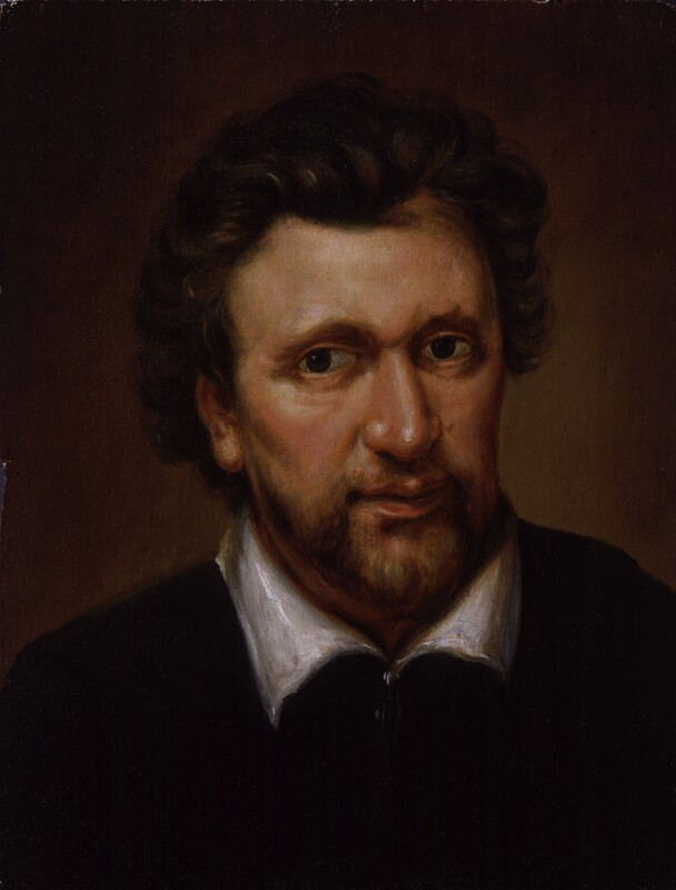 Benjamin Jonson, after Abraham van Blyenberch, probably early 19th century, based on a work of circa 1617 - NPG 363 - © National Portrait Gallery, London