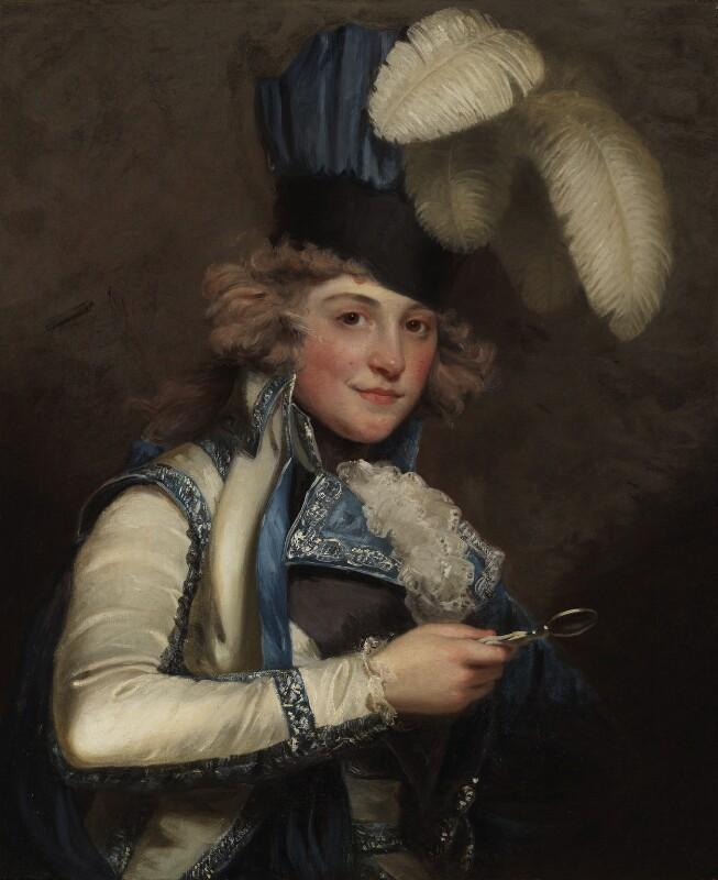Dorothy Jordan, by John Hoppner, exhibited 1791 -NPG 7041 - © National Portrait Gallery, London