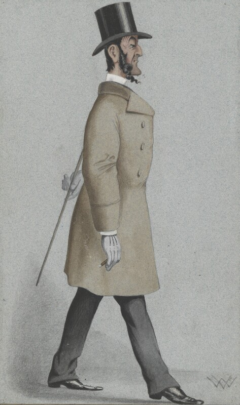 Sir John Burgess Karslake, by W. Vine, published in Vanity Fair 22 February 1873 - NPG 2581 - © National Portrait Gallery, London