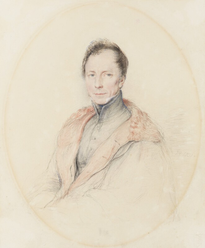 Henry Kater, by George Richmond, 1831 - NPG 2165 - © National Portrait Gallery, London