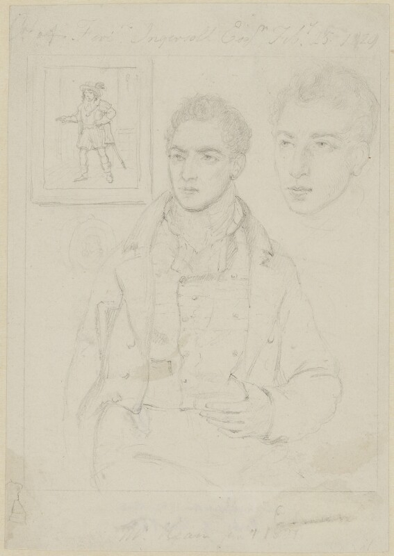 Edmund Kean, by Thomas Charles Wageman, 1827 - NPG 4623 - © National Portrait Gallery, London