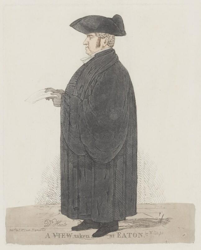 John Keate, by Richard Dighton, circa 1815-1816 - NPG 1116 - © National Portrait Gallery, London