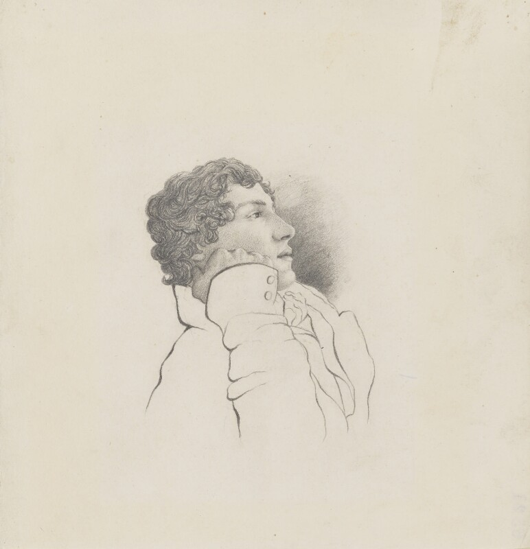 John Keats, by Charles Armitage Brown, 1819 -NPG 1963 - © National Portrait Gallery, London