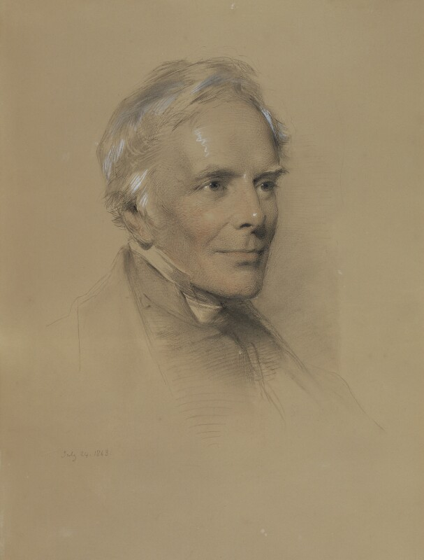 John Keble, by George Richmond, 1863 - NPG 1043 - © National Portrait Gallery, London