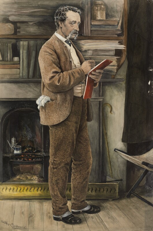 Charles Samuel Keene, by Walton Corbould, circa 1880s (posthumous?) -NPG 1337 - © National Portrait Gallery, London