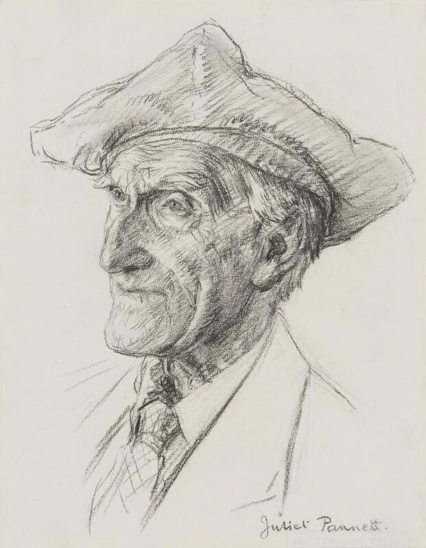 Sir Arthur Keith, by Juliet Pannett, 1954 - NPG 3986 - © National Portrait Gallery, London