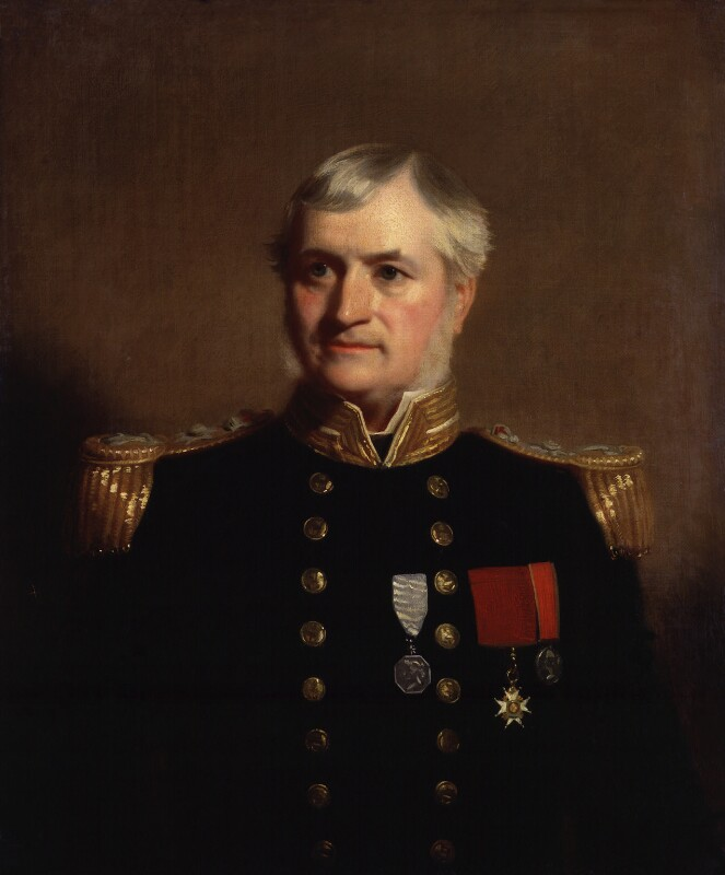 Sir Henry Kellett, by Stephen Pearce, exhibited 1856 - NPG 1222 - © National Portrait Gallery, London