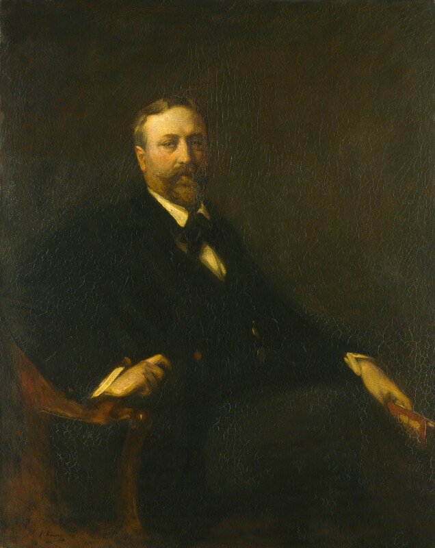 James Fitzmaurice-Kelly, by Sir John Lavery, 1898 - NPG 2018 - © National Portrait Gallery, London