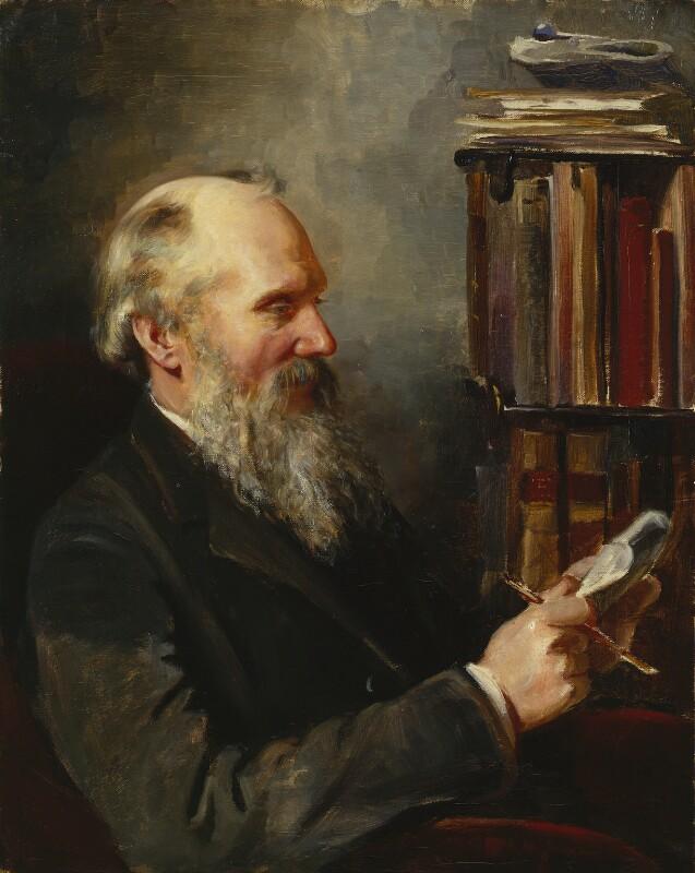 William Thomson, Baron Kelvin, by Elizabeth King (née Thomson), 1886-1887 - NPG 1708 - © National Portrait Gallery, London