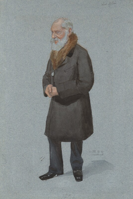William Thomson, Baron Kelvin, by Sir Leslie Ward, published in Vanity Fair 29 April 1897 - NPG 3005 - © National Portrait Gallery, London