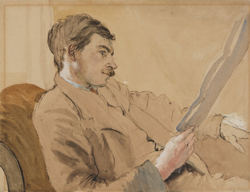 John Maynard Keynes, Baron Keynes, by Gwendolen ('Gwen') Raverat (née Darwin), circa 1908 - NPG 4553 - © National Portrait Gallery, London